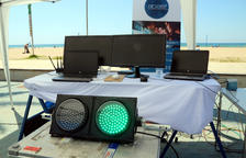 Salou instal·larà més d'una vintena de sensors a les platges per regular l'aforament en temps real