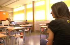 El Instituto Escola la Agulla del Catllar recibe un 10% de los alumnos que esperaba