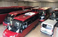 Empreses de transport discrecional convoquen una marxa lenta el dia 10