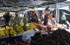 El mercadillo semanal de Torredembarra reabre el 9 de junio con las paradas de alimentación
