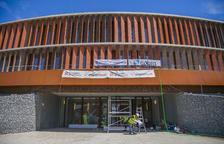 Ricomà reclama a la oposición que ayude a desencallar el uso del Palau d'Esports