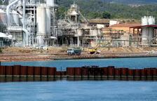Acuamed extreu 73.322 metres cúbics de llots tòxics de l'embassament de Flix