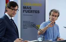 Els nou brots de coronavirus actius a Espanya, «sota control»