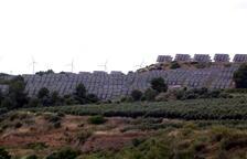Alud de solicitudes para implantar parques solares en terrenos agrícolas en Tarragona