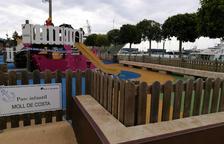 El Port de Tarragona reobre les zones de joc a l'aire lliure