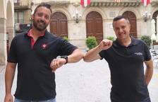 Un Sant Joan sense castells a Valls: «No es pot aguantar!»