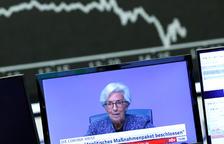 El BCE estima que l'economia de l'eurozona no millorarà fins a finals del 2022