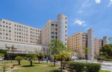 La nena ha estat traslladada a l'Hospital General d'Alacant.