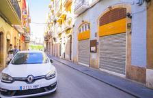 Quatre restaurants demanen poder posar terrassa al carrer Sant Pere