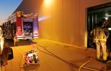 En l'incendi van treballar set dotacions.