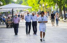 La Guardia Urbana multará a quien no lleve la mascarilla puesta en espacios públicos