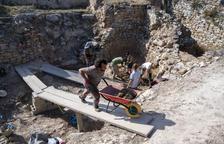 La cisterna del poblat ibèric del coll del Moro de Gandesa va funcionar fins 200 anys abans de la nostra era