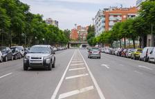 Vidal i Barraquer y avenida Catalunya de Tarragona tendrán carriles con dos velocidades diferentes