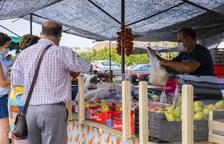 Espimsa coloca mamparas en los puestos del mercadillo de Bonavista