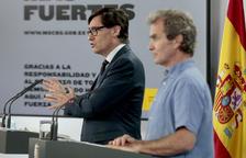El ministre de Sanitat, Salvador Illa, insta la població de Lleida a seguir les recomanacions de la Generalitat