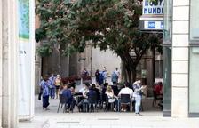 Confusió entre comerciants i hostalers de Lleida davant la incertesa del confinament