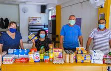 L'Associació de Veïns de la Granja recull aliments per gent necessitada