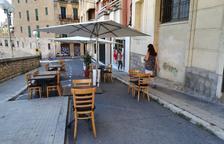 Els carrers Sant Pere i Sant Andreu de Tarragona ja poden tenir terrassa  des d'avui