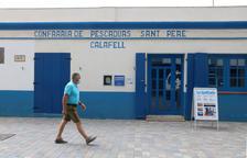 Entrada a l'edifici històric de la Confraria de Pescadors Sant Pere, ara convertit en un centre d'interpretació.