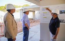 El Govern no pone fecha al fin de las obras de la nueva Escola Arrabassada