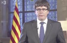 Puigdemont revela el mensaje que grabó en octubre de 2017 por si era detenido