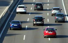 Un de cada tres vehicles que va marxar de Barcelona el cap de setmana no ha tornat