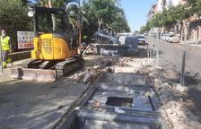 Comencen a treure les illes de contenidors soterrats de Tarragona