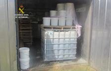 Descobreixen un magatzem amb més de 1.500 quilos de tabac xixa a Riudoms
