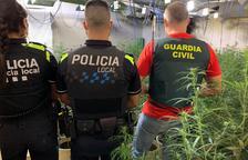 El dispositiu conjunt entre Policia Local i Guàrdia Civil es va fer dimecres.