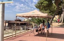Roda de Berà incorpora cinc persones per controlar els aforaments a les platges del Roc
