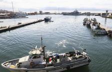 Les captures de peix baixen un 70% amb relació al 2019 a Tarragona
