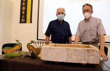 El Museu Bíblic Tarraconense exposa una reproducció d'una pileta trilingüe hebrea
