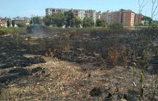 Controlado el incendio en un descampado próximo a la Anilla Mediterráneo