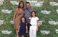 Ingrid Palomares participa a la preestrena de 'Padre no hay más que uno 2'