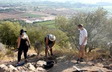 Els arquèolegs del GRESEPIA han delimitat l'àrea arqueològica del jaciment de l'Antic, a Amposta.