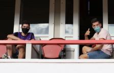 Juan Rodríguez, Giner, Pereira i Habran no apareixen pel Nou Estadi