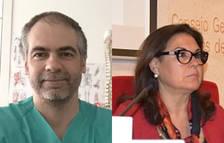 Sergi Boada i Remedios Rico aspiren a presidir el Col·legi de Metges de Tarragona