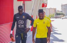 Cheikh Sarr marxarà cedit al Real Oviedo en les pròximes hores
