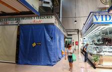 Els negocis del Mercat Central de Reus comencen l'ampliació de les parades