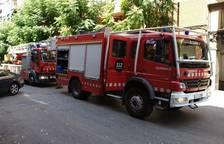 Incendio en un almacén de una casa en el Catllar