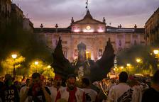 La Víbria de Tarragona durante el pasacalle del Seguici Popular de Santa Tecla del año pasado.