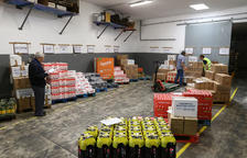 El Banc dels Aliments de Reus atén de nou tantes famílies com abans de l'estiu