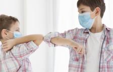 L'OMS recomana l'ús de mascareta per als nens a partir de 12 anys