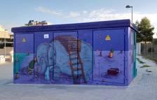Tres artistes dels Pallaresos plasmen el seu art en tres centres de transformació d'Endesa