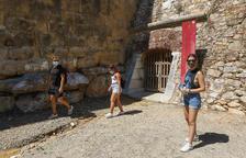 Un centenar de persones visita les Muralles l'últim cap de setmana d'agost