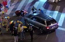Herido grave un motorista en un accidente a Sant Pere i Sant Pau