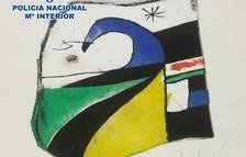 Localitzen una obra desapareguda de Joan Miró quan anava a ser subhastada a Londres