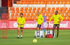 Giner, Pereira i Habran tornen a entrenar amb la resta del grup