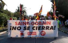 La plantilla de Saint-Gobain es concentraran dimecres davant del Parlament