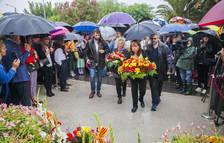 El Camp de Tarragona celebra la Diada amb actes culturals de petit format i ofrenes